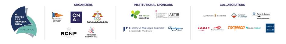 Trofeo SAR Princesa Sofia 2017 - Sponsors