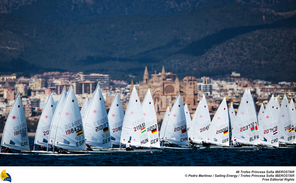 The first 2018 major Olympic sailing event